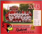 Team Picture of Illinois State University Girl's Soccer Team